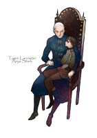 Tywin and Arya by gtako
