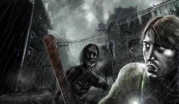 Silent Hill Downpour by Vincent-A-Silence