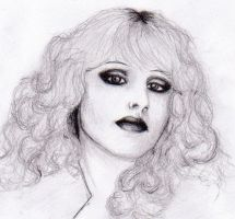 Nancy Spungen by SechimB