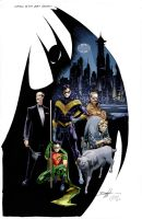 Batman family by Shadowrenderer