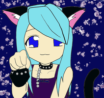 Itami another kawaii neko look xD by YukiAtem12
