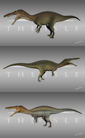The Isle -  Suchomimus Skins by LeviaDraconia