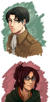 Snk Portraits by The-Sushi-Demon