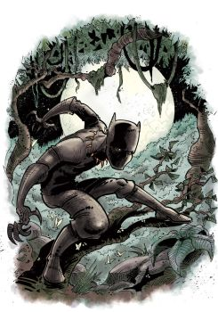 The Black Panther by pmason83