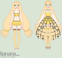 muse: banana reference sheet by themaunster