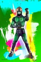 Kamen Rider Black RX by in2cr3ativ3