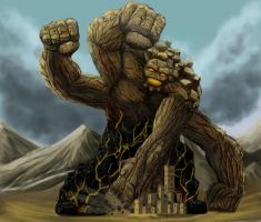 Rift Colossus by RichardBlumenstein