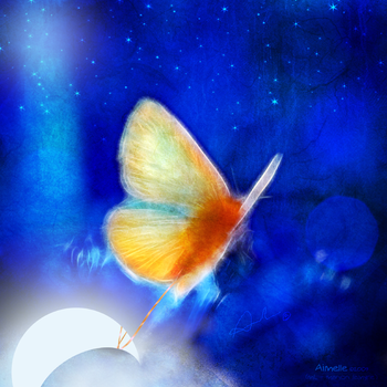 the giant butterfly... by aimelle-art