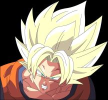 Goku Angry by Majin-Ryan