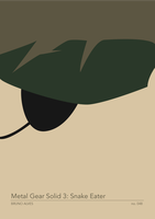 Metal Gear Solid 3: Snake Eater by sylar399