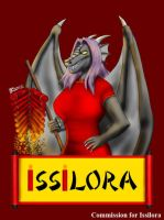 COM : Issilora in Chinese New Year Moment by whiteguardian