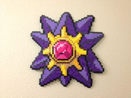 Starmie - Fuse Beads by chocovanillite