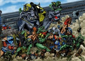 Blood Bowl time by nikichitarra