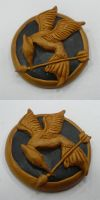 Hunger Games Mocking Jay Pin by ChibiSilverWings