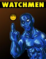 Dr. Manhattan by Neolithic-angel