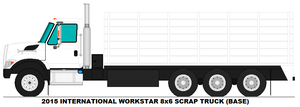 International Workstar 8x6 Scrap Truck base by MisterPSYCHOPATH3001