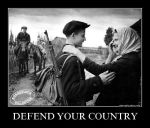 Defend your country by Ferrabra