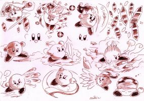 Kirby by Kokorokeke