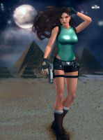 Lara Croft 50 by Orphen5