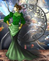 Steampunk dress: Aquarium by KalePaksi