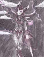 Femme Unicron by awesomepatricia