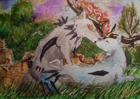 aceo:love by Bledhgarm