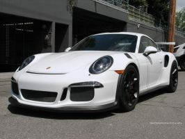 White GT3 RS by SeanTheCarSpotter