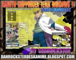 Minato Namikaze Theme Windows 7 by Danrockster