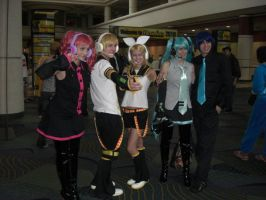 Vocaloid Group Megacon 2010 by BrittanyRoseCosplay