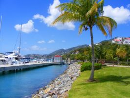 St Maarten Harbor by Roses-to-Ashes