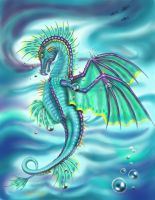 Painted Sea Dragon... by Artsy50
