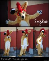 Spykoo the fennec fox by Grion