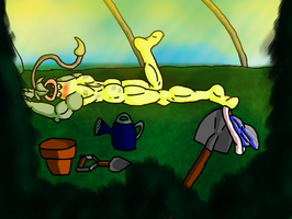 a little sunshine for the plant by dragoncima13
