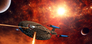 U.S.S. Stainer by DarthAssassin