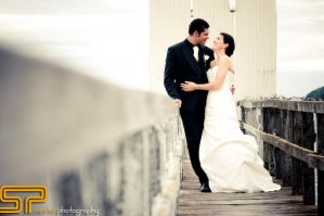 savvie weddings walkway by Savvie-Photography