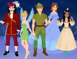 Peter Pan 1953 - Disney by Eolewyn1010