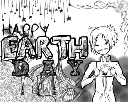 Happy Earth Day by BoredomIsRandom