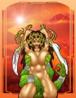 Dejah Thoris 3 by ArtbroJohn