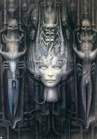 H. R. Giger XXXV by CamillOnline