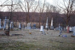 Cemetery by moonshine09-stock