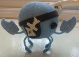 Blue Pirate Crab by AshFantastic