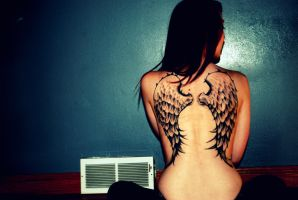 On Angel's Wings COLOR by CoyoteInc