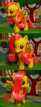 MLP - Custom Fluttershy by Loverofpiggies