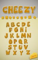 Cheezy Font by GabrielaP93