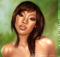 Brandy Norwood by heiesuke