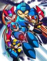 Megaman Tribute 1 by manukongolo