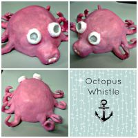 Octopus Animal Whistle by iamboredalready