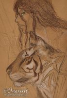 Frere Tigre et Sauvage by Iksumi