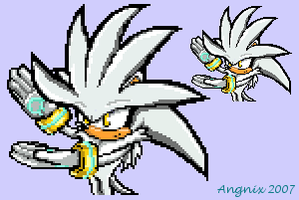 Silver Sonic Battle Style by Angnix