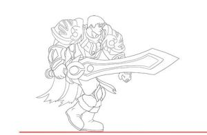 Garen Marches WIP by Shouhda